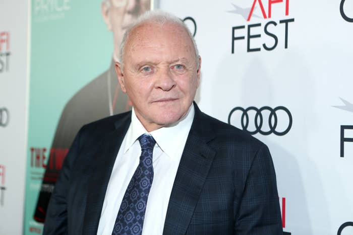 Anthony Hopkins attends an event