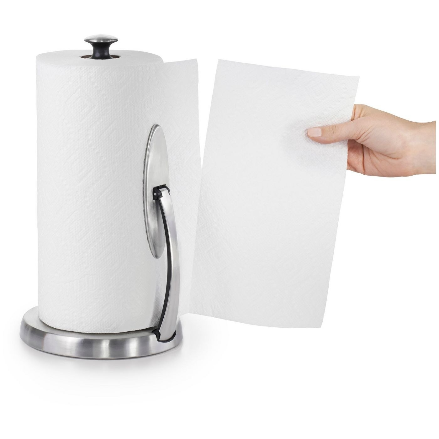 The paper towel holder