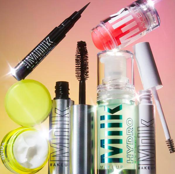 The mini mascara, eyeliner, primer, brow gel, serum, and cream