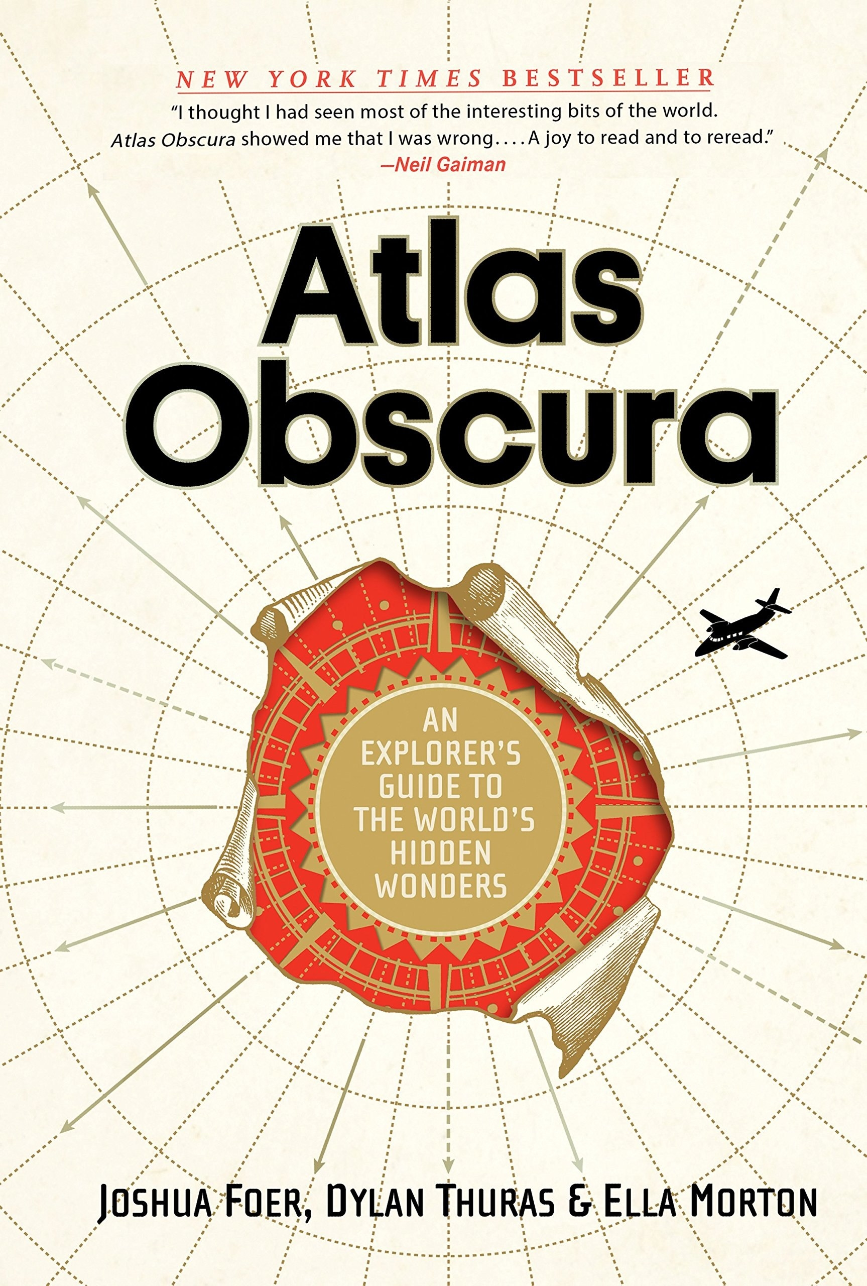 Cover page of Atlas Obscura book
