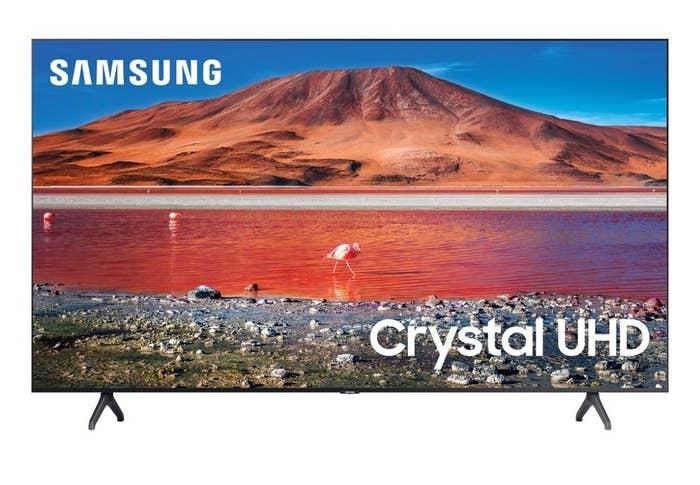 "a samsung 50"" TV"