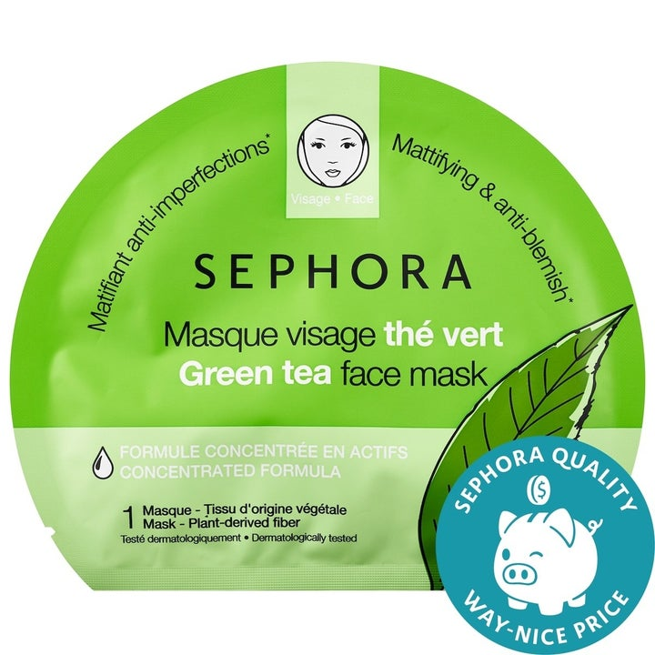 the green tea face mask