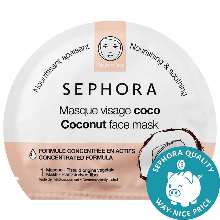 the coconut face mask