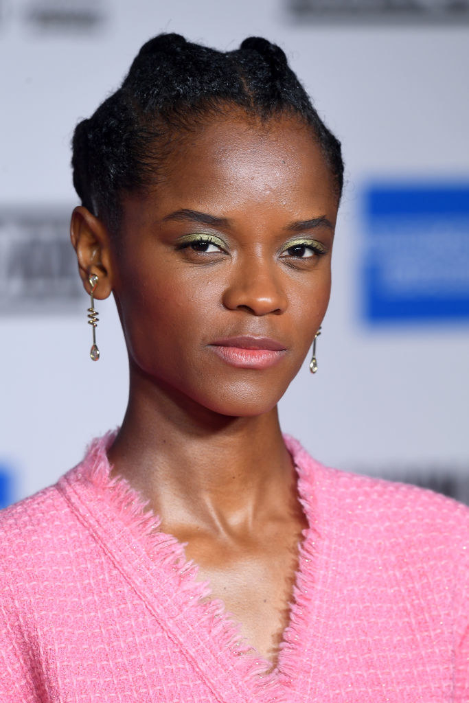 Letitia on the red carpet