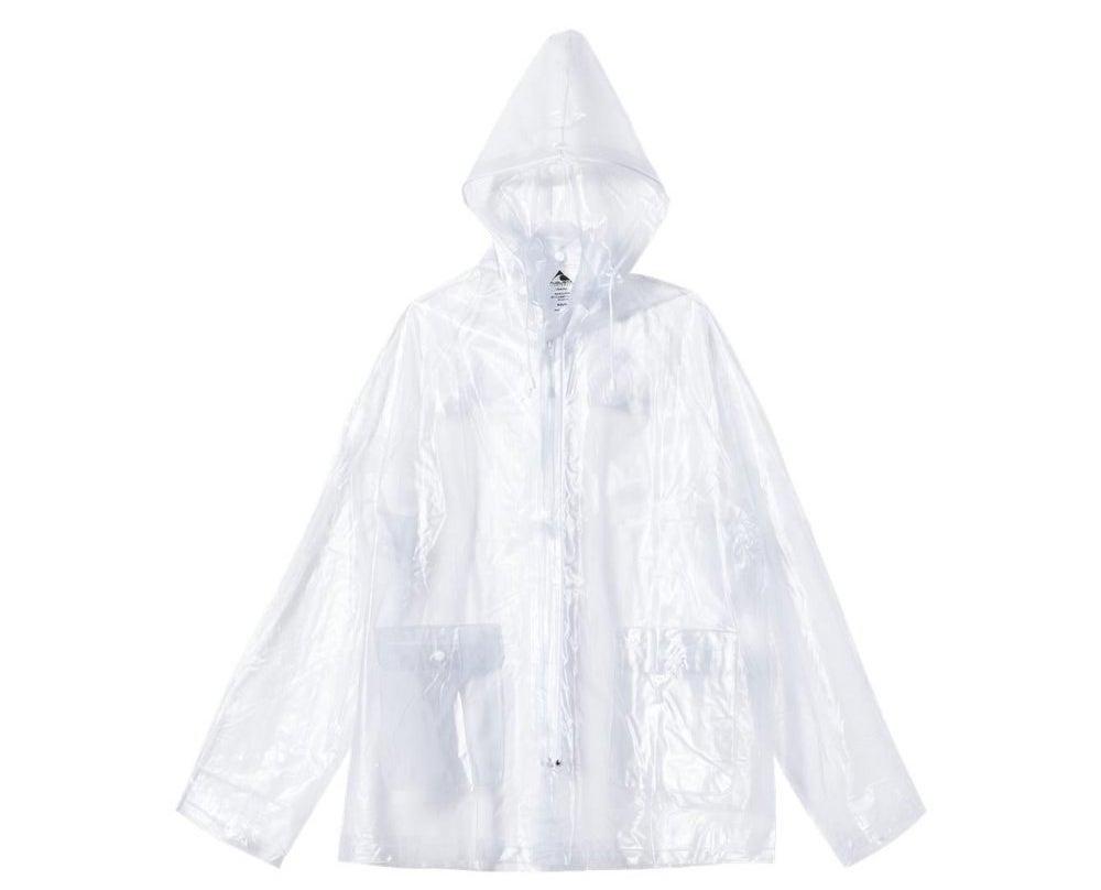 clear pvc plastic swim suit