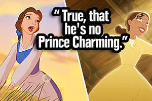 Belle and Tiana both singing but which song