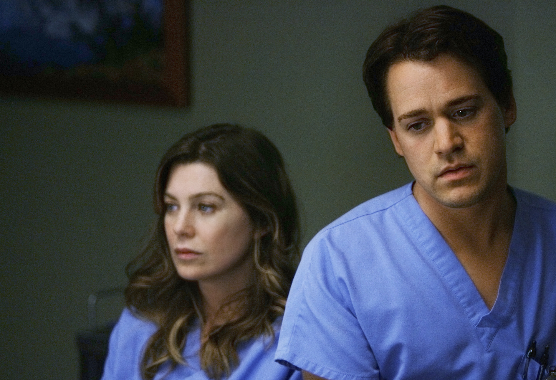 T.R. Knight in Grey's Anatomy