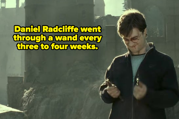 Daniel Radcliffe Revealed Some BTS Tidbits About Harry Potter, And Im Shaking In My Cloak