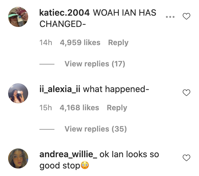 People shook by James Charles' brother