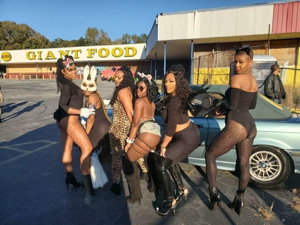 A group of Atlanta dancers