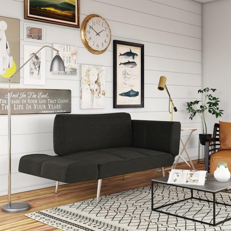 The black futon