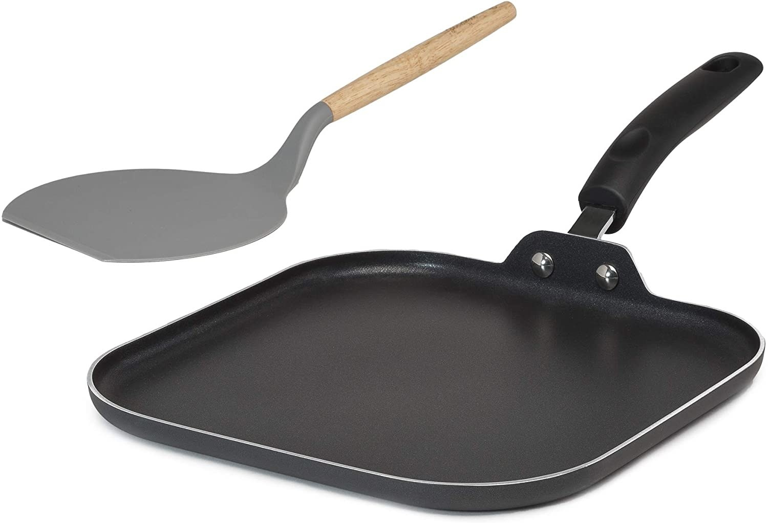 The pan and flipper