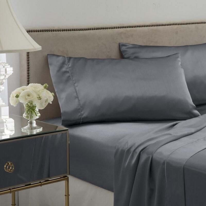 The gray satin sheets
