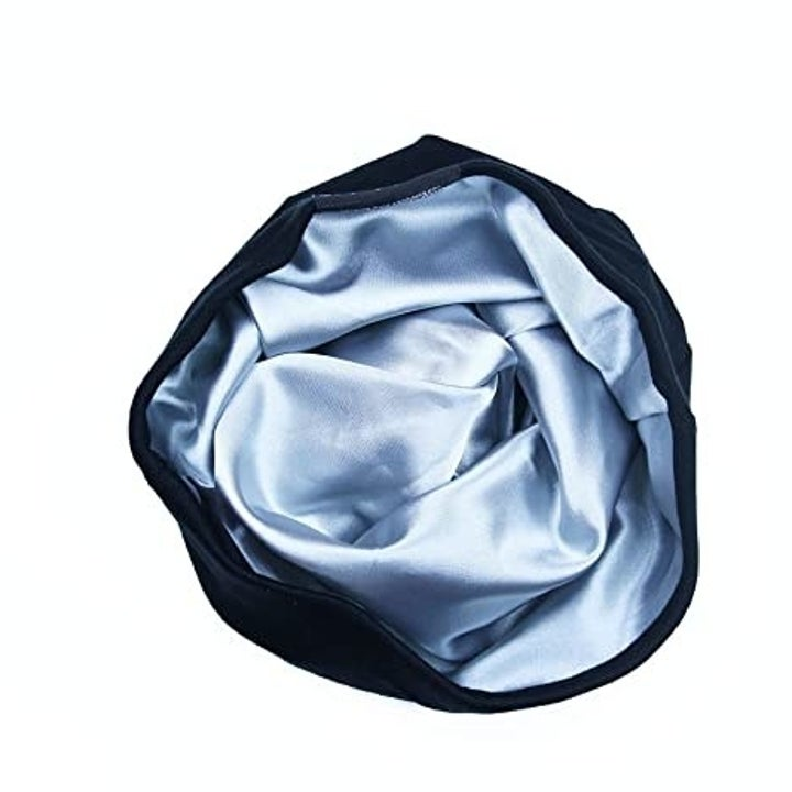 look inside the cap with silky lining