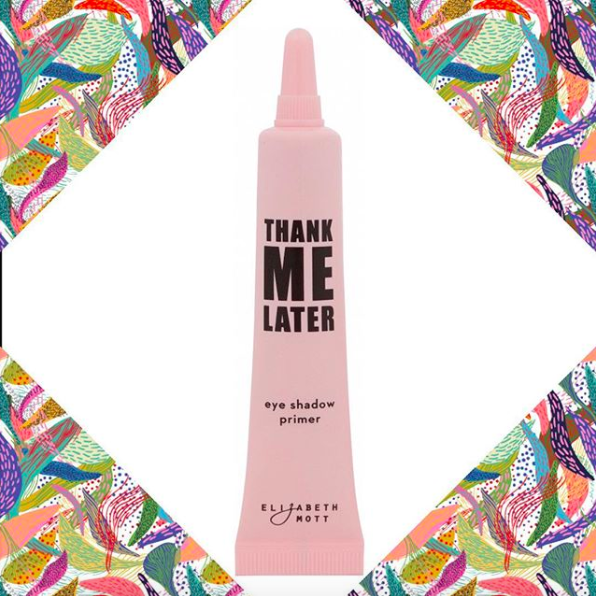 """the pink tube that says """"thank me later"""" on it"""