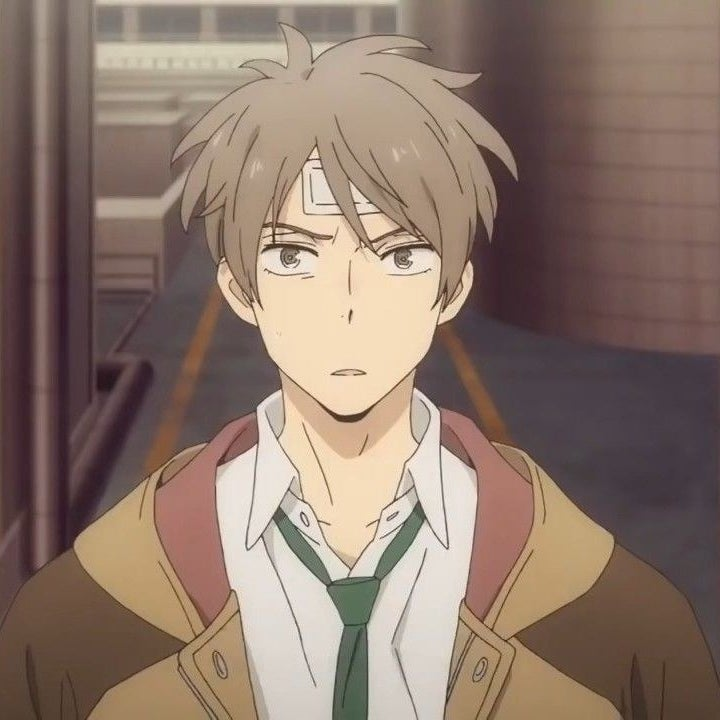 Haru Katou looking slightly confused