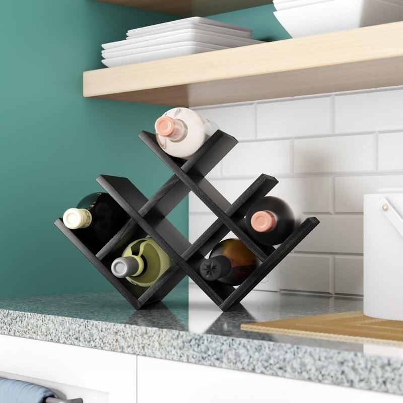 The wine shelf