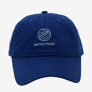 The blue Water Tribe cap with light blue embroidered logo