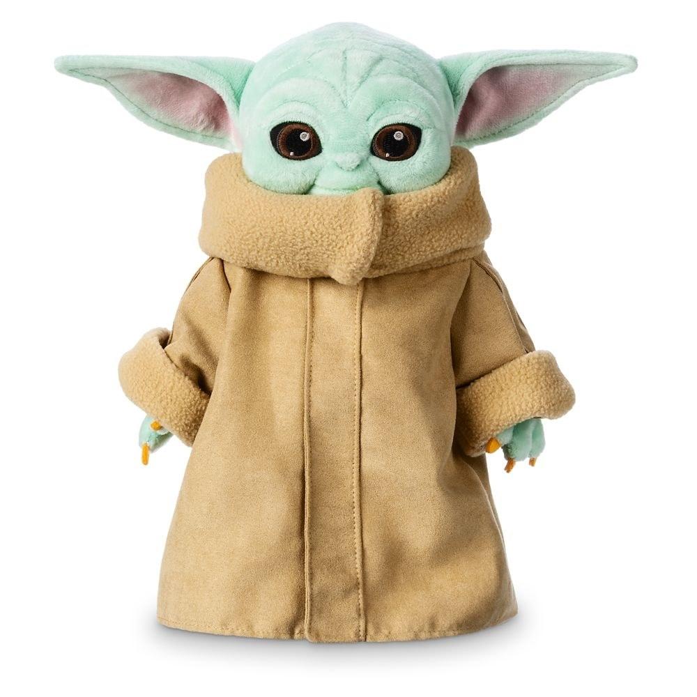 the Baby Yoda plush