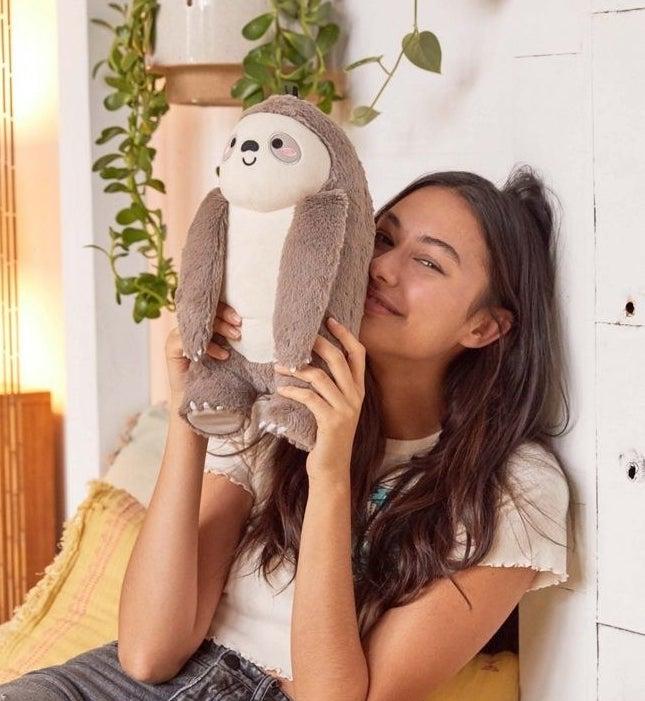 the sloth plush