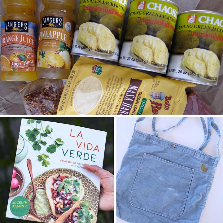 Ingredient bundle from Todo Verde