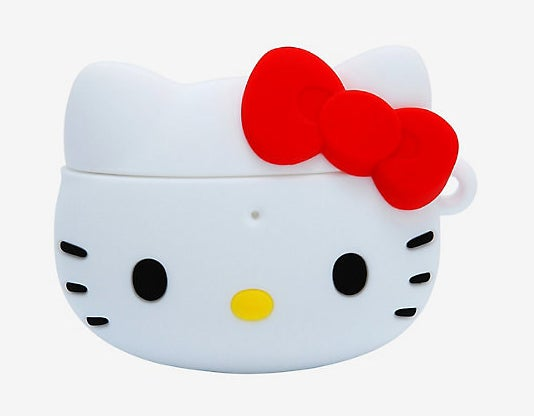 The case features Hello Kitty's face