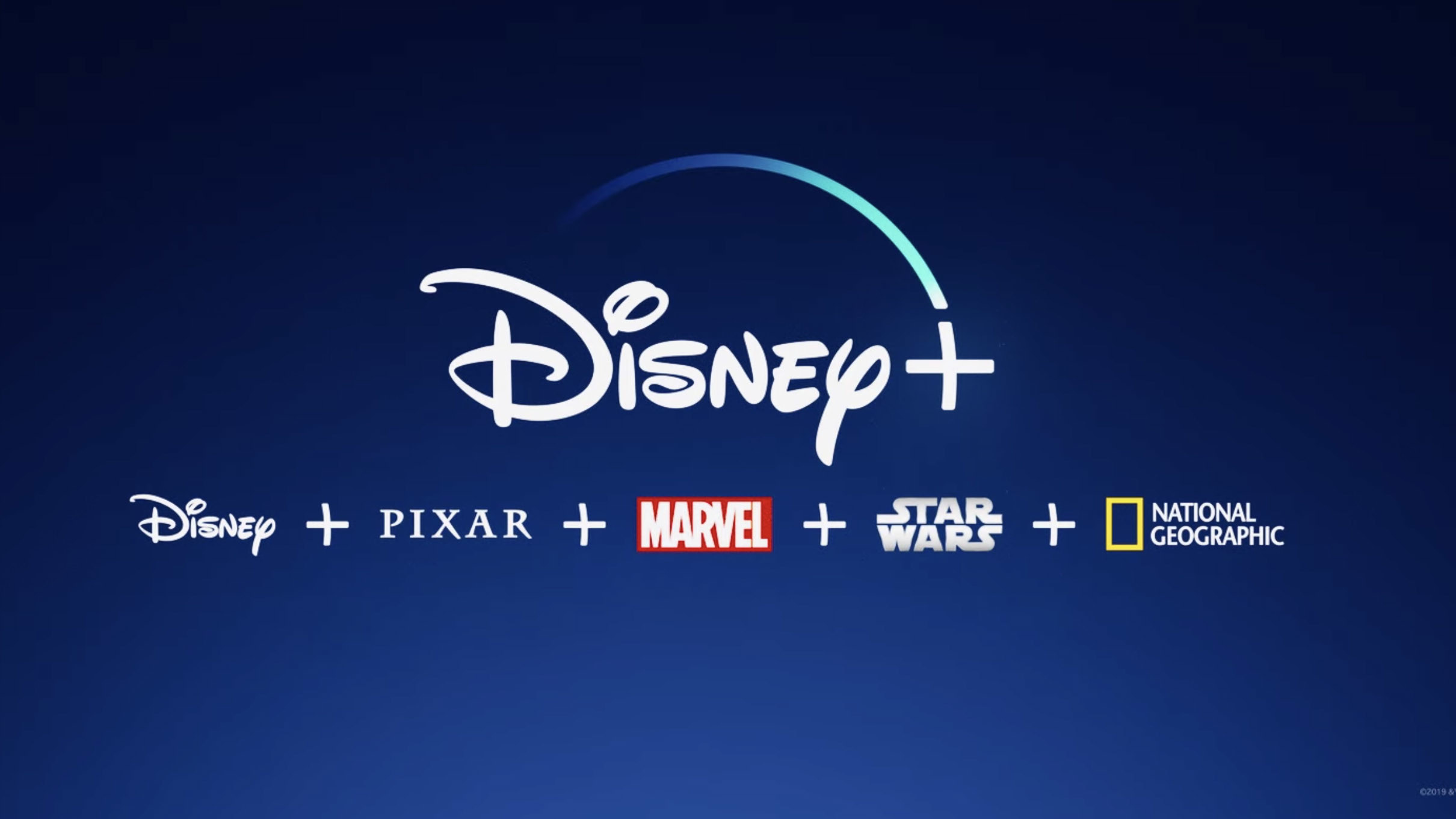Disney Plus includes Pixar, Marvel, Star Wars, and National Geographic