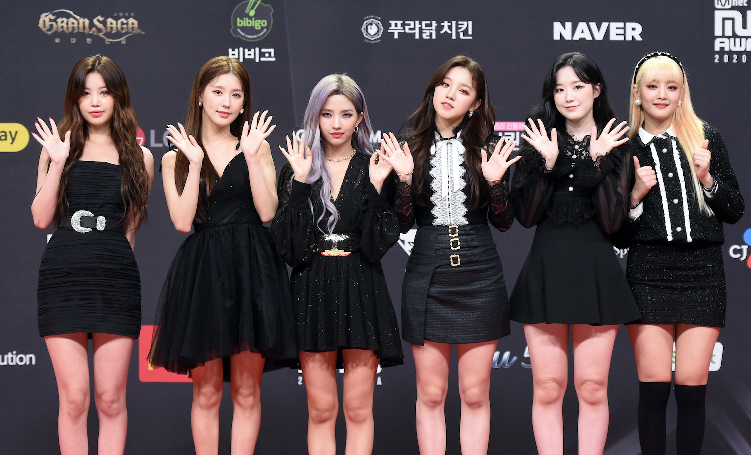 G IDLE attends the 2020 Mnet Asian Music Awards