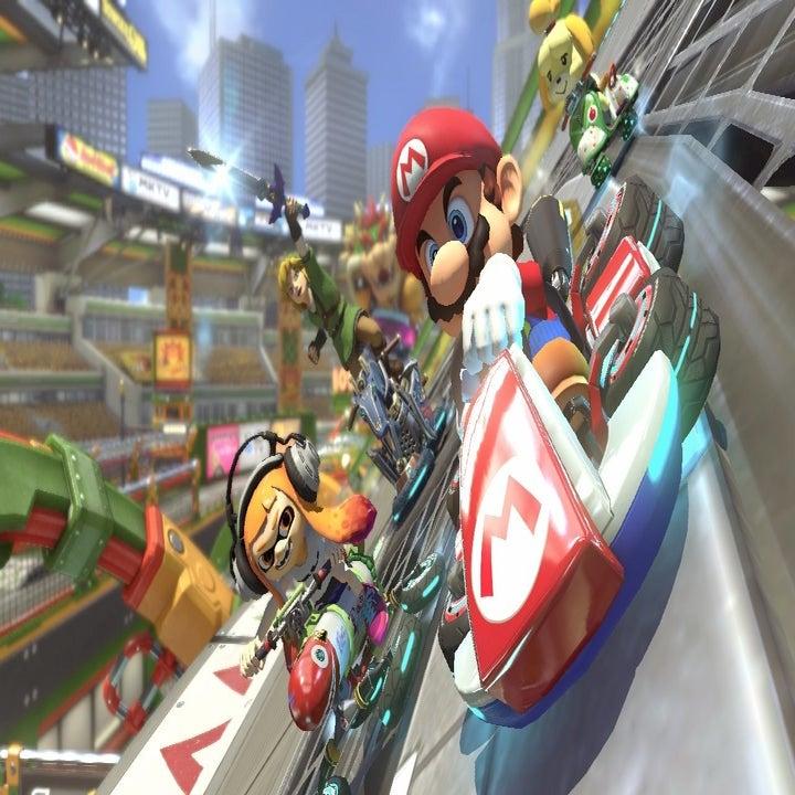 screenshot of mario kart 8 deluxe