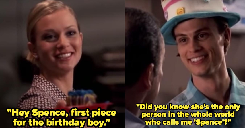 """A. J. Cook as Jennifer """"JJ"""" Jareau and Matthew Gray Gubler as Spencer Reid in the show """"Criminal Minds."""""""