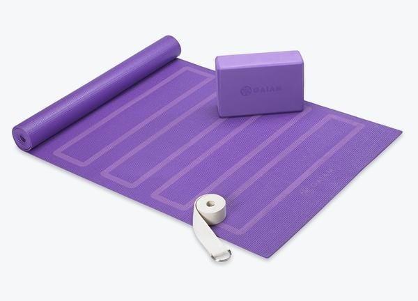 the purple yoga kit