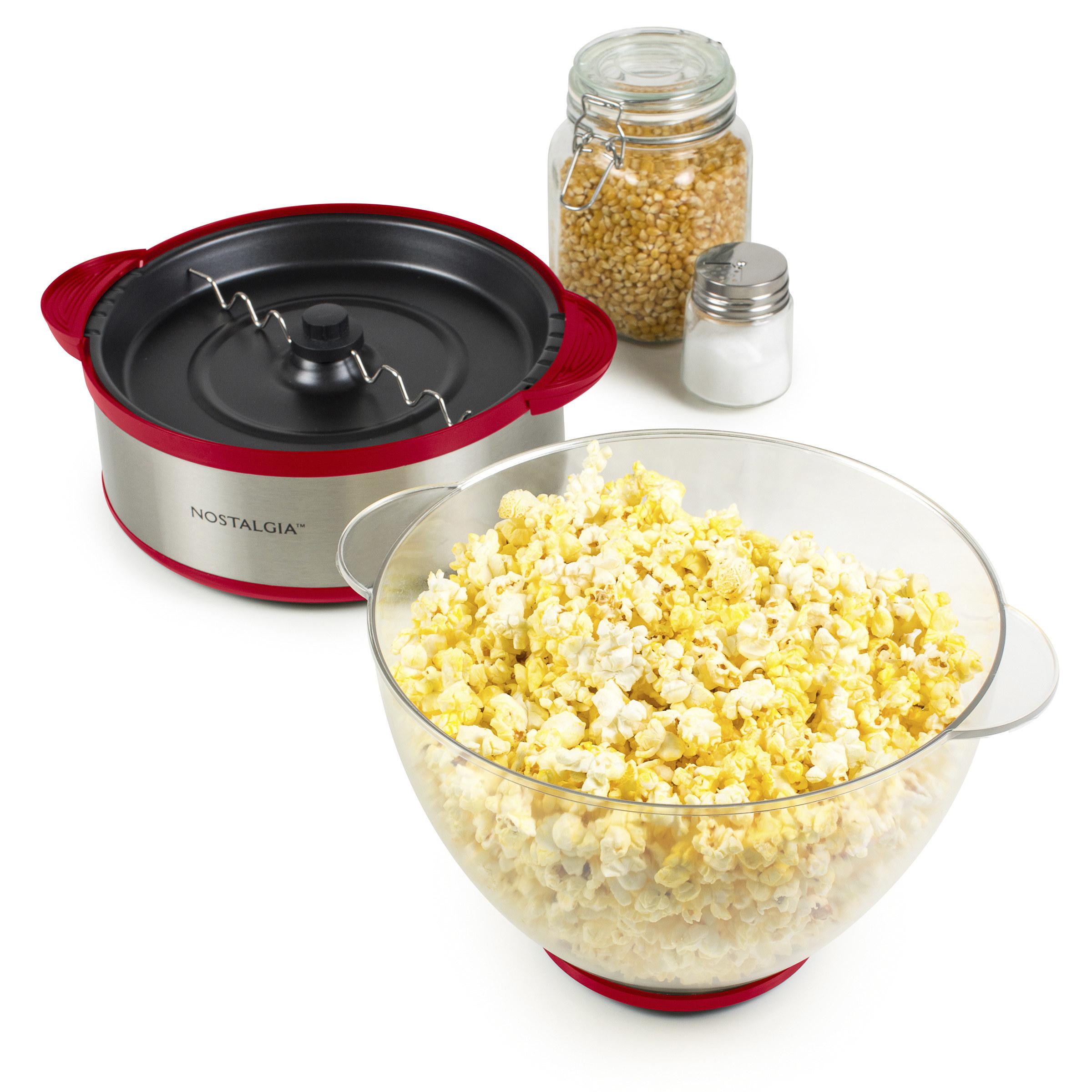 The popcorn popper