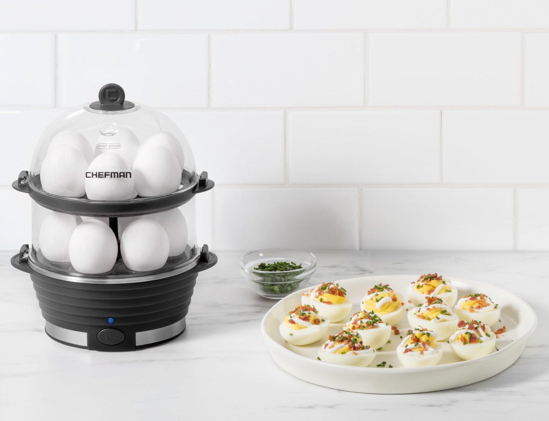 The black egg cooker