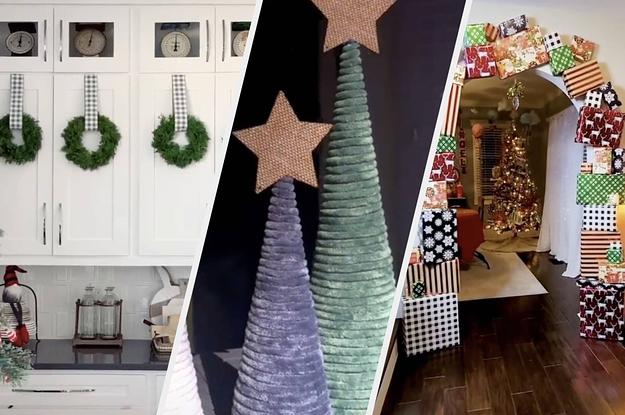 14 Super Easy DIY Holiday Decor Ideas From TikTok