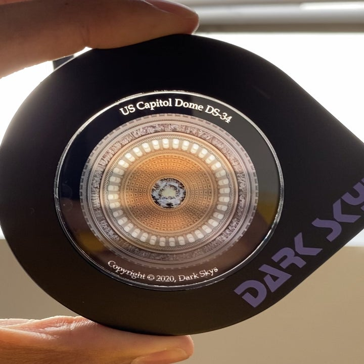 A disc of the US Capitol Dome for the DS-1 projector