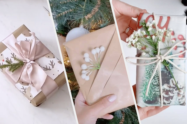The Best Present Wrapping Tips From Tiktok