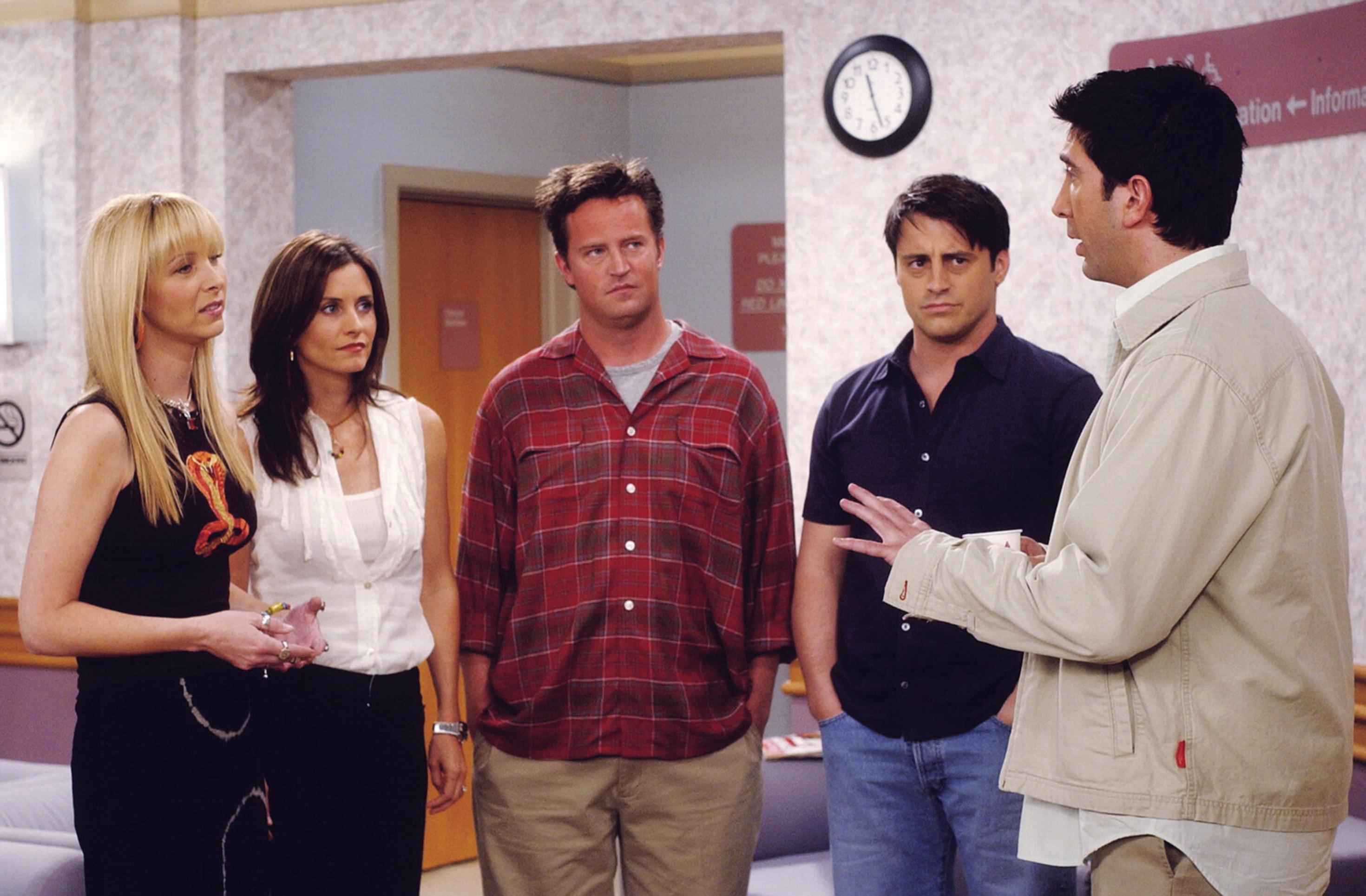 Lisa Kudrow, Courteney Cox Arquette, Matthew Perry, Matt LeBlanc, David Schwimmer, 1994-2004