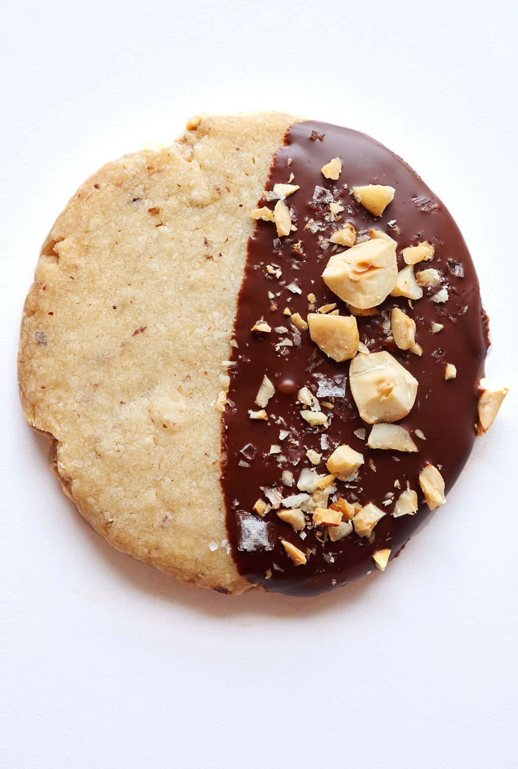 Chocolate-Hazelnut Shortbreads