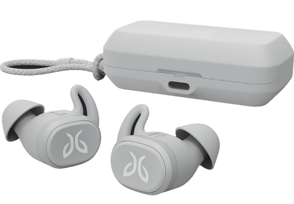 Earpiece wireless buds with carrying case