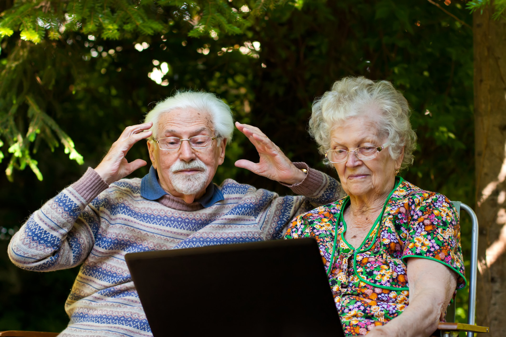 confused random old people that have nothing to do with the post