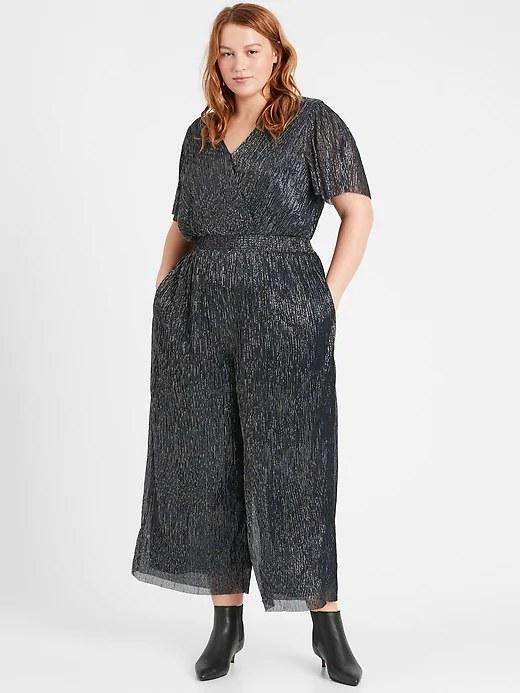 Model wearing the jumpsuit
