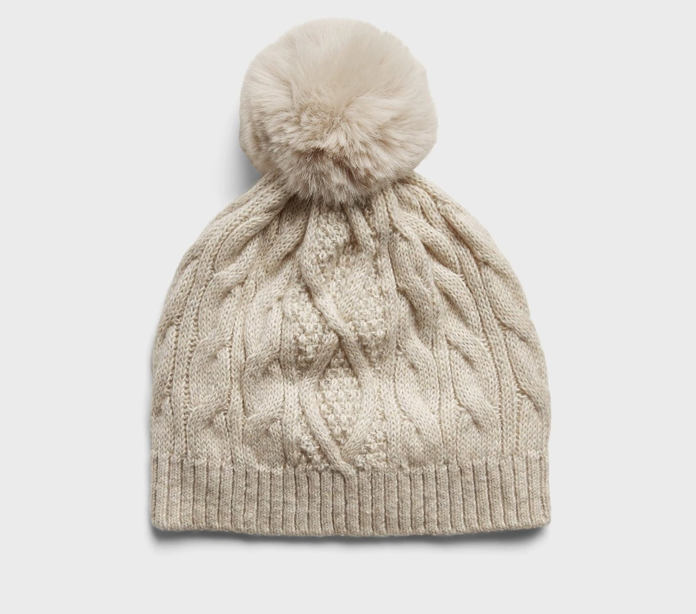 The beanie in the color Oatmeal Heather