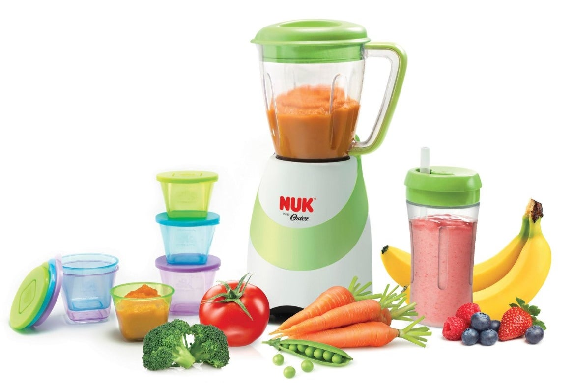 The smoothie and baby food maker