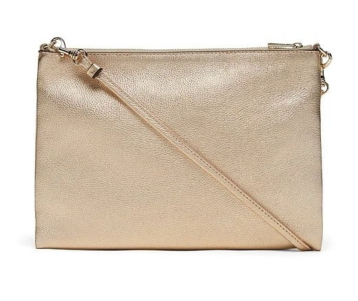 The bag in color Gold