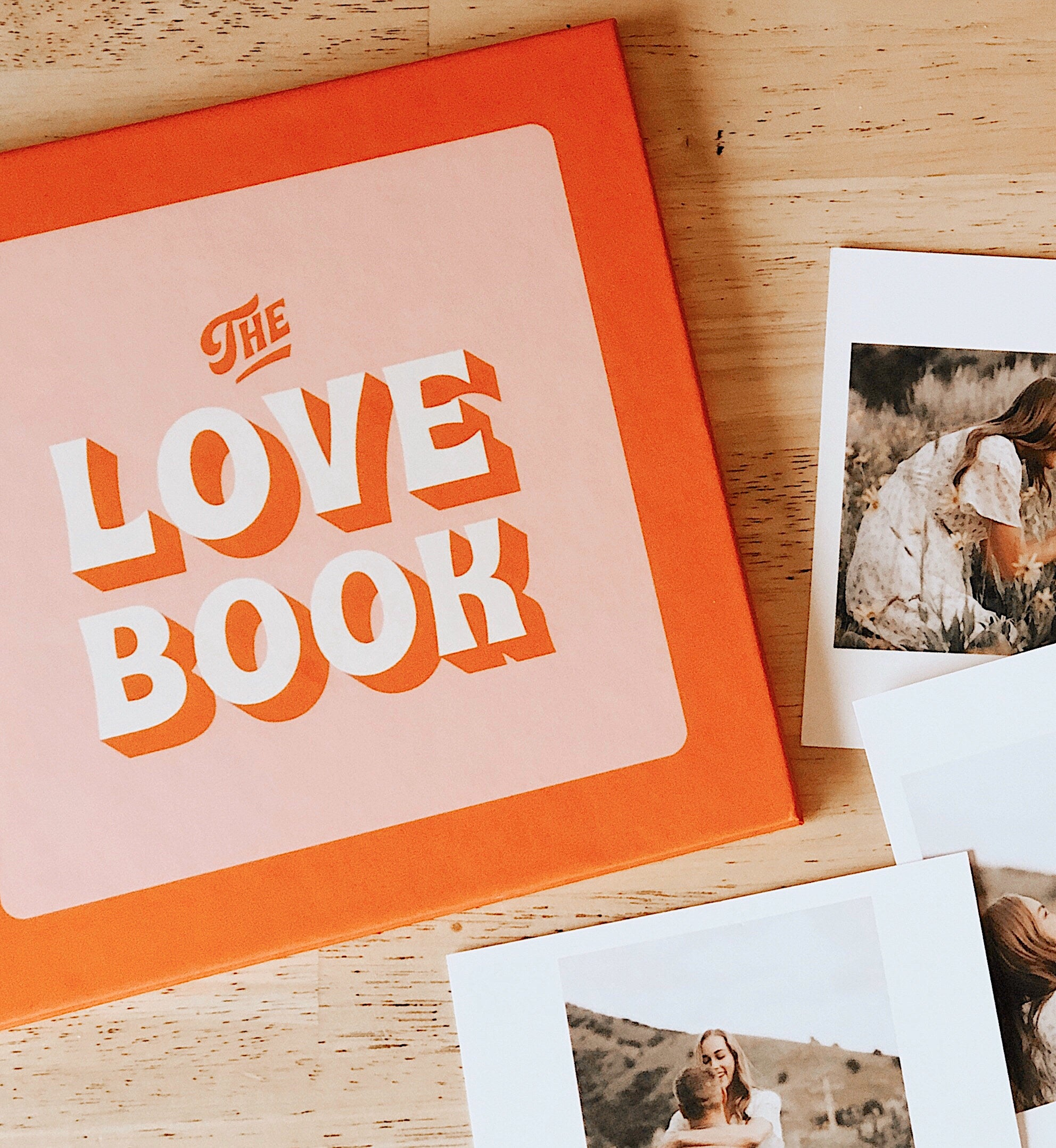 The Love Book cover and photos