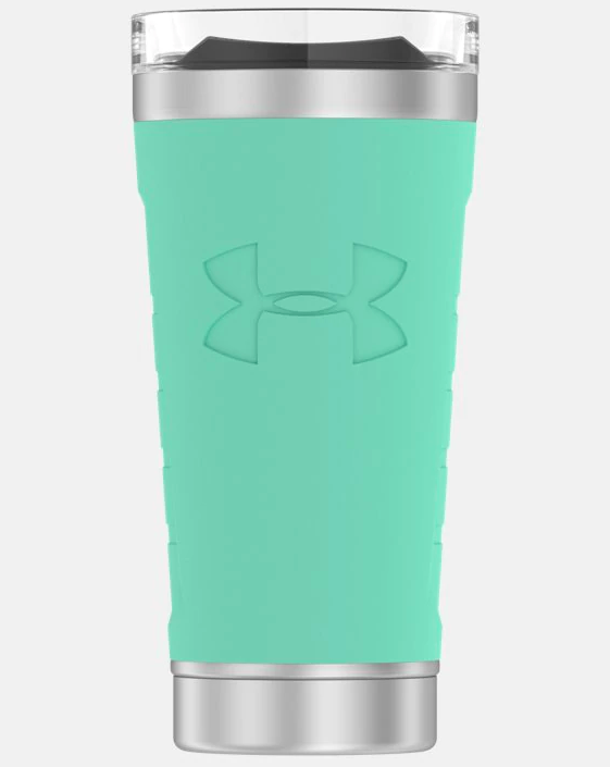 the stainless steel tumbler in green