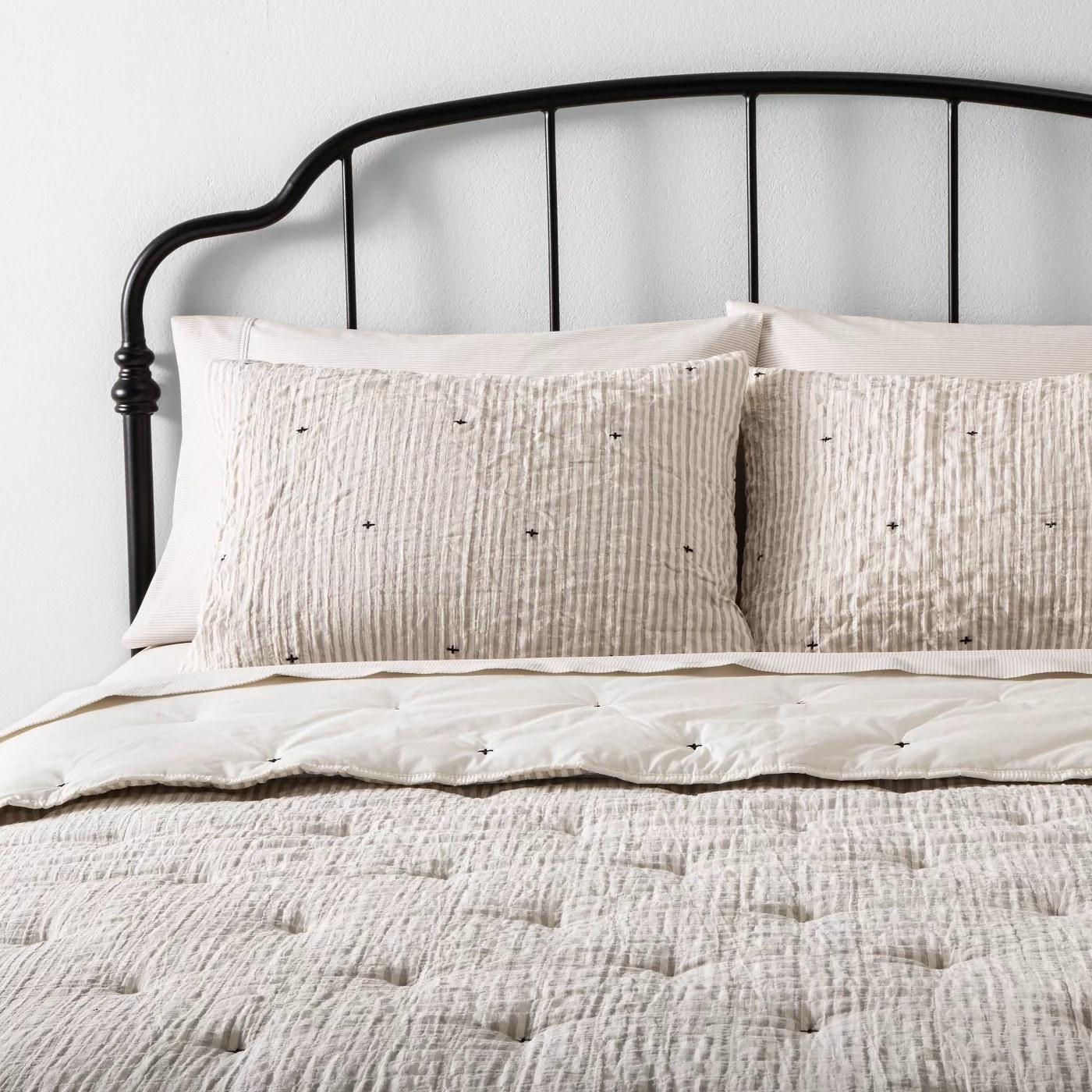 The comforter and sham set