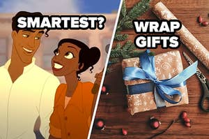 smartest question over tiana and naveen and wrap gifts suggestion