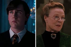 "Neville and McGonagall from ""Harry Potter"""