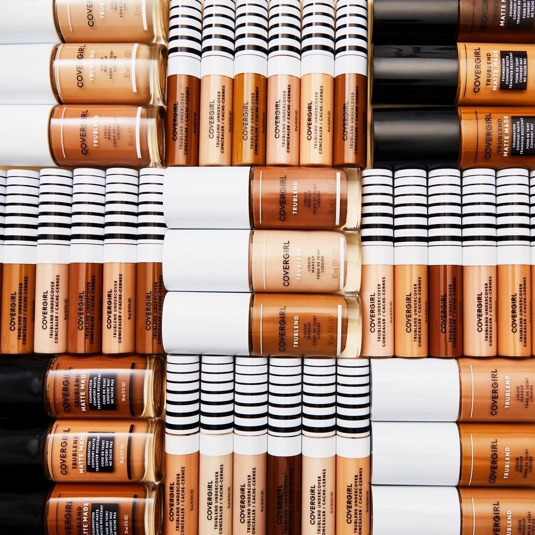 The concealer in multiple shades